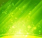 Fundos verdes abstratos Imagens de Stock Royalty Free