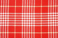 Fundos vermelhos e brancos do dishtowel Foto de Stock