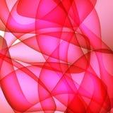 Fundos vermelhos ondulados Foto de Stock Royalty Free