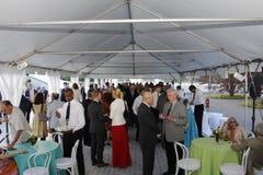 Fundraiserparti royaltyfri foto