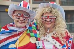 Fundraisers no jubileu de prata da rainha Fotografia de Stock Royalty Free