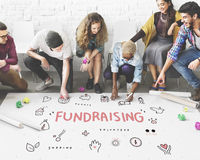 Fundraising Donations Charity Foundation Support Concept Royalty Free Stock Photos