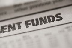 Funds Stock Photo