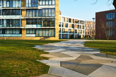 Funenpark residential area at Amsterdam Royalty Free Stock Photo