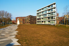 Funenpark residential area at Amsterdam Royalty Free Stock Photos
