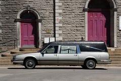 funeral автомобиля стоковая фотография rf