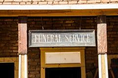 Funeral Foto de archivo libre de regalías
