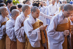 Funeral budista Fotos de Stock