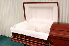 Funeral Casket Royalty Free Stock Images