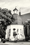 Funeral chapel of saint Anna near the parish church, Skalica, bl Stock Image