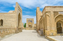 The funeral complex of Chor-Bakr Stock Photo