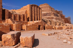 Funeral complex of King Djoser Royalty Free Stock Photography
