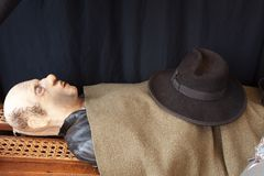 Funeral Display Royalty Free Stock Photography