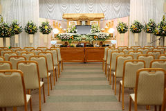 Funeral home Stock Image