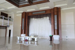 Funeral parlor. In amoy city, china Stock Photography
