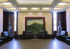 Funeral parlor of xiamen city Royalty Free Stock Images