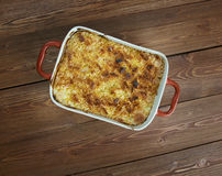 Funeral potatoes Royalty Free Stock Photo