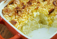 Funeral potatoes Stock Image