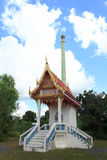 Funeral pyre. For the Buddhists royalty free stock photography