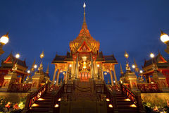 Funeral real tailandês. foto de stock royalty free
