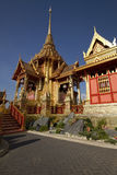 Funeral real tailandês. foto de stock