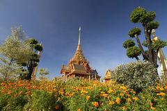 Funeral real tailandês. fotografia de stock