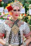 Funeral tailandês da dança Fotografia de Stock Royalty Free
