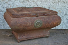 Funeral Urn. Antique old funeral urn close up Stock Photo