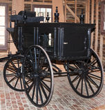 Funeral wagon. Wagon made for undertaker to use during funerals Royalty Free Stock Images