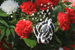 Funeral wreath Royalty Free Stock Photography