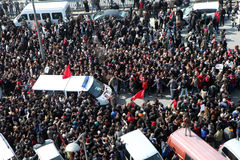 Funeral of young Gezi victim Stock Photography