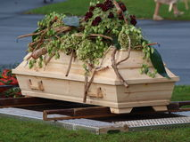 Funerale fotografie stock