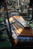 Funerale fotografia stock