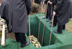 funerale Fotografia Stock Libera da Diritti