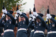 Funerale dei militari di Royal Air Force fotografie stock