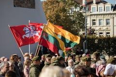 Funerale del generale di brigata Adolfas Ramanauskas-Vanagas in Viln immagini stock libere da diritti