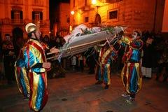 Funerale di carnevale Immagini Stock