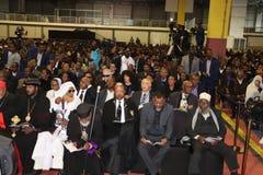 Funerale di ex presidente etiopico Dr Negasso Gidada fotografie stock libere da diritti