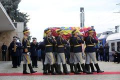 Funerale di re Michael del ` s della Romania immagini stock