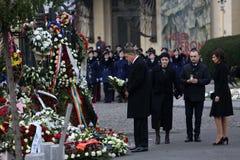 Funerale di re Michael del ` s della Romania immagine stock libera da diritti