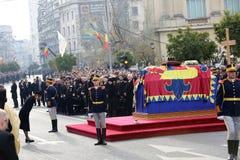 Funerale di re Michael del ` s della Romania fotografie stock