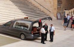 Funerale in Gozo immagini stock