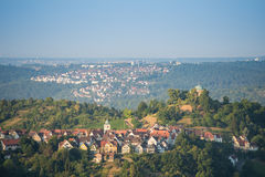 Funerary Chapel on a hill nearby Stuttgart Stock Images