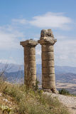 Funerary columns at Karakus Stock Images