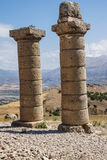 Funerary columns at Karakus Stock Photo
