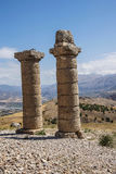 Funerary columns at Karakus Stock Image