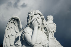 Funerary statue Stock Photos