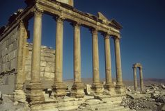 Funerary Temple Royalty Free Stock Images