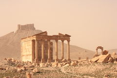 Funerary Temple - Palmyra Stock Image