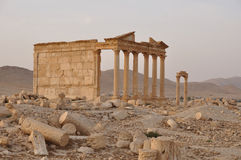 Funerary temple in Palmyra, Syria Royalty Free Stock Photography